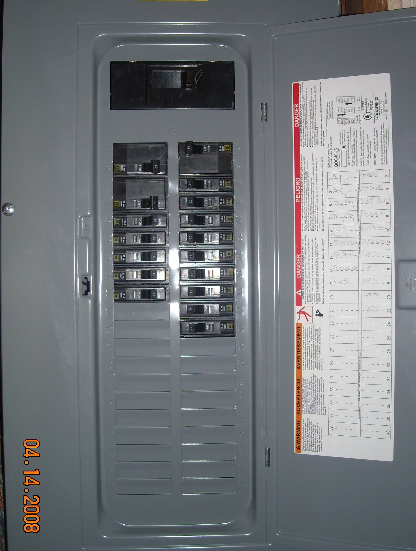 knowing home fuse box wiring diagram structure Home Circuit Breaker Panel
