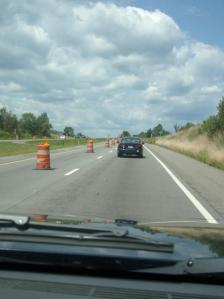 If it's summer, it must be road construction season in PA.