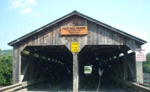 Pulp Mill Covered Bridge, Vermont
