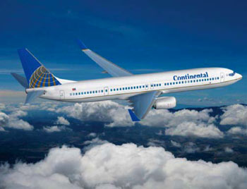 Continental Boeing 737
