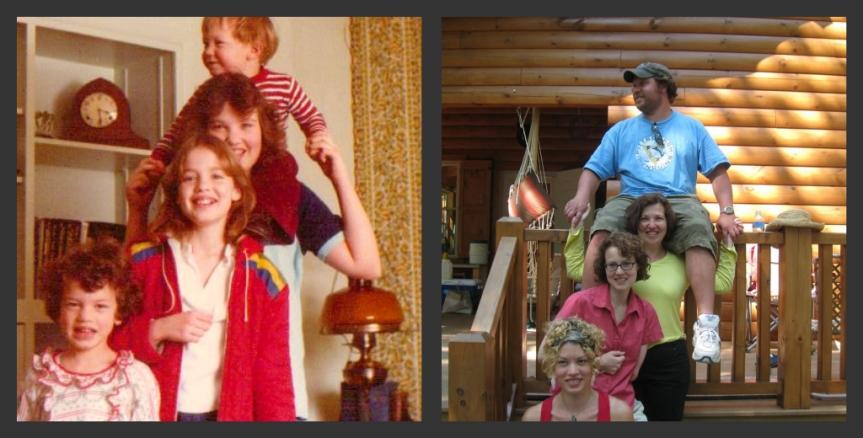 Top to bottom: Allen, Meg, Betsy, Sandy