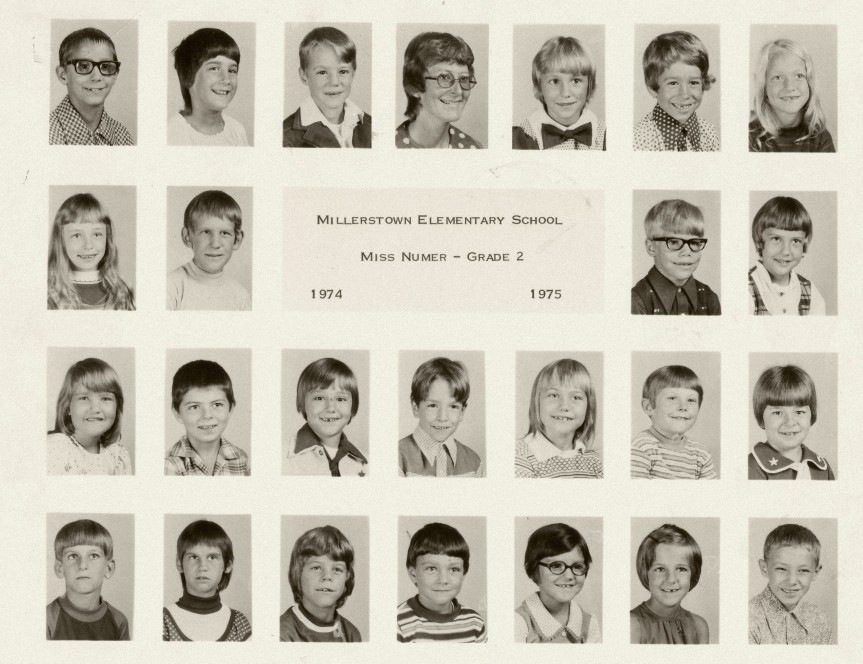 Miss Numer's 2nd grade 1974-75