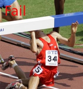 Fail-hurdles