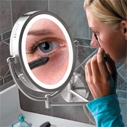Led-wall-mounted-magnifying-mirror