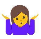 Shrug emoji