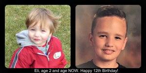 Eli turns 12