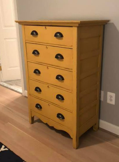 dresser gold after
